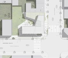 Gallery of Mention Contest CAPBA / Nomade Arquitectos - 6 Museum Architecture, Architecture Details, Photoshop, Site Plans, Library Design, Autocad, Urban Design, Planer, Landscape Design