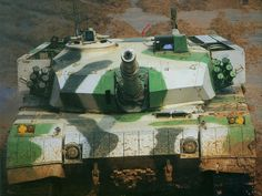 The Type 96G or -A is a Chinese Third Generation Main Battle Tank (MBT). Based on the Type 85-III design, the Type 96 entered service with the People's Liberation Army (PLA) in 1997. An estimated 2,500+ Type 96 tanks are in service with the PLA. The Type 96G/A is a heavily modified variant of the series. (~ Marcus) http://armorjournal.com/