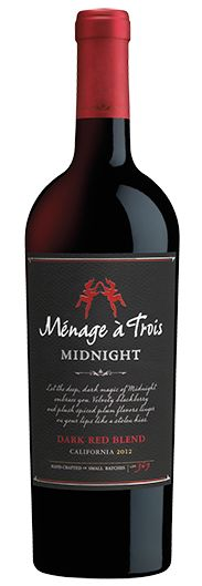 Menage à Trois Midnight is deeper and richer and its on sale for $8.99 a bottle @surdyksliquor Save even more by the case - 12 bottles for $95.88 through 3/19