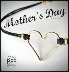 bracelets for your mom... www.jewelrybymaebee.etsy.com