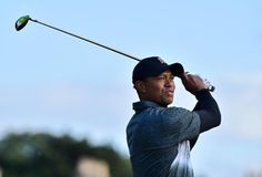 Ben Stansall /AFP        US golfer Tiger Woods in action on day two of the 2015 British Open Golf Championship at St Andrews in Scotland, on July 17, 2015 (AFP Photo/Ben Stansall)