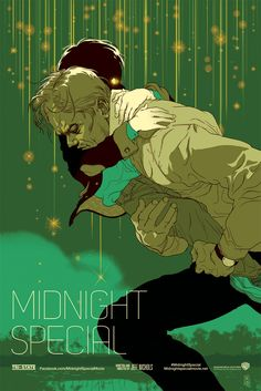 Tomer Hanuka Midnight Special & Mud Movie Posters Release From Mondo