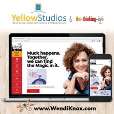 Book Design, Web Design, Portfolio Website, Author, Branding, Eye, Learning, Check, Books