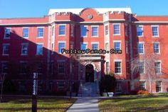 Assiniboia Hall in Autumn | University of Alberta Campus Photo - Edmonton, Alberta, Canada | FollowPanda.COM
