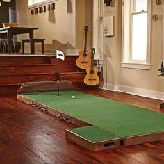 Brunswick Indoor Putting Green #Fun, #Golf, #Indoor, #Train