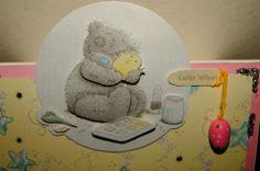 Easter card - details