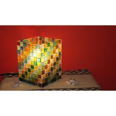 lamparas con venecitas de vidrio - Buscar con Google