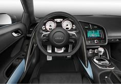 kudos to the folks at neidfaktor for doing up an so well the audi already has a great interior so to improve on it is impressive check it out. audi spyder audi spyder plus top . Audi R8 Gt, 2011 Audi R8, Audi R8 V10 Plus, Audi Cars, Audi R8 Interior, Car Interior Design, South Beach, Miami Beach, Peugeot