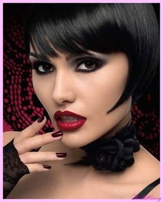 Goth glam #beauty #makeup #cosmetics