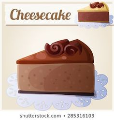 Find Chocolate Cheesecake Detailed Vector Icon Series stock images in HD and millions of other royalty-free stock photos, illustrations and vectors in the Shutterstock collection. Cookie Vector, Noni Fruit, Tiramisu Dessert, Salmon Eggs, Fruit Cartoon, Food Clipart, Cute Food Art, Cute Food Drawings, Filled Cookies