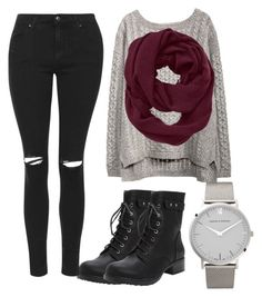 """""""Sweater Weather"""" by slowly-dying ❤ liked on Polyvore featuring Torrid, Athleta, Topshop and Larsson & Jennings"""