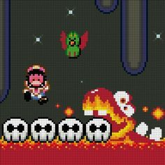 Super Mario World Blaarg