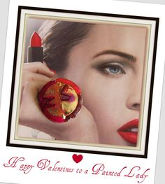 Happy Valentine to a Painted Lady by VickiDianeDesigns on Etsy, $24.00