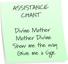 """Assistance Chant Had a friend who always did """"Tony, Tony turn around, something lost can't be found"""" .  Worked, lost his to be wifes wedding ring, and guess what....found it after this call for divine help!"""