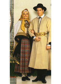 Kuldīgas tautas tērps. Kurmāles brunči.
