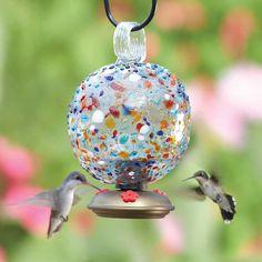 Dew Drop Sprinkles Hummingbird Feeder.