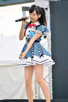 AKB48 Team 8 Yui Oguri Yui, Lolita Fashion, Japan Girl, Team 8, Cute Girls, Kawaii, Cute Outfits, Summer Dresses, Cosplay