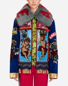 939b37ae406 Velvet jacket with patches. Бархатная КурткаМода ...