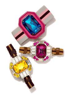 Brighten Up - Prada bracelets, $310-$250.