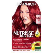 Garnier Nutrisse Ultra Color 6.60 Fiery Red