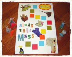 Marisa Hopkins: Living the Creative Life: Make a Board Game and Clean This Mess!