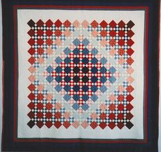 Sshaded nine patch quilt
