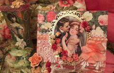 FotoBella: Happy Valentine's Day Card by design team member ReNae using Mon Amour I Want It All Bundle by Graphic 45 found at FotoBella.com