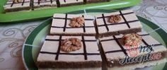 Linecký ořechový koláček se žloutkovou polevou