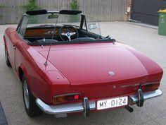 Fiat 124 Sport Spider, Fiat 124 Spider, S Car, Sport Cars, Eye Candy, Vehicles, Interior, Sports, Vintage