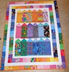 crayon quilt