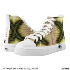 LIDJ Design. Bed of Nails Printed Shoes