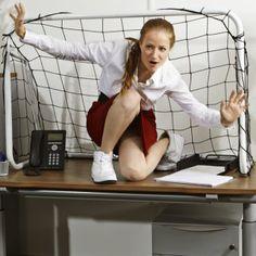 femme sport bureau