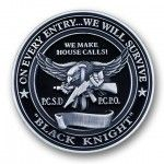 Black Knight 3D Coin