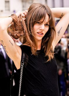 Arm tattoos - Freja Beha Erichsen