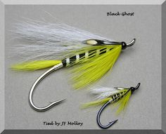 Black Ghost. For more fly fishing info follow and subscribe www.theflyreelguide.com Also check out the original pinners site and support