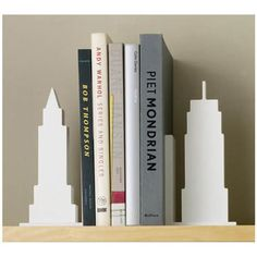 The Women's National Book Association- New York City chapter endorses these NYC skyline bookends :)