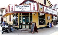 Parkway Bakery and Tavern is famous for their delicious poboys!
