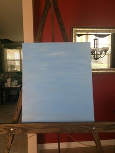 Easel for me to paint on