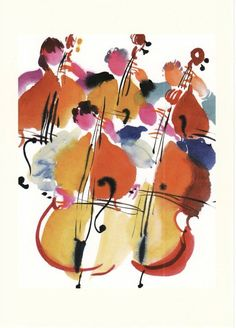 Double Bass Section