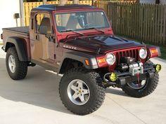 Jeep Brute pickup kit
