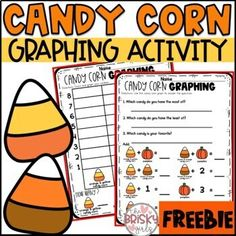 Halloween Candy Graph Freebie by The Brisky Girls | TpT Halloween Math, Halloween Candy, All You Need Is, Graphing Activities, Bag Toppers, Candy Corn, Owls, Party, Fun