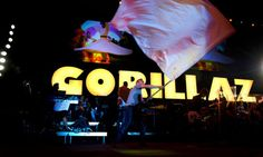 Arabian heights: Gorillaz stage historic gig in Syria | Stephen ...