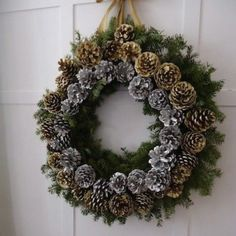 DIY Fresh Evergreen Wreaths