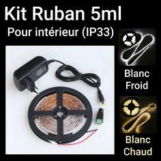 Kit Ruban Blanc chaud et Blanc froid