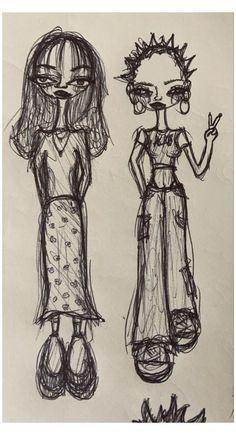 Indie Drawings, Psychedelic Drawings, Art Drawings Sketches, Cool Drawings, Sketch Drawing, Cool Sketches, Drawing Art, Indie Kunst, Arte Indie