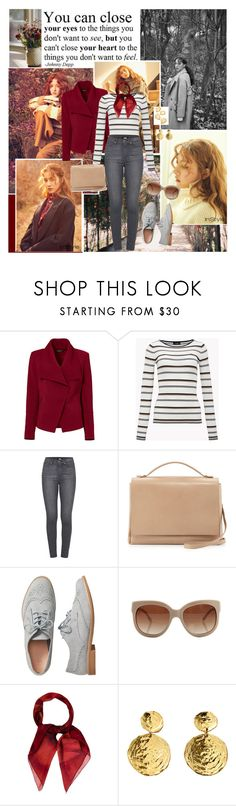 """I'm watching the falling leaves"" by ita-varela ❤ liked on Polyvore featuring Spy Optic, Greylin, Paige Denim, The Row, Gap, STELLA McCARTNEY, Gucci, BaubleBar, fashionista and autumn"