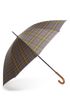 0b66200b2 Barbour Tartan Golf Umbrella available at #Nordstrom Barbour, Golf Umbrella,  Patio Umbrellas,