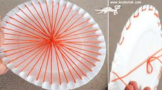 http://krokotak.com/2013/02/paper-plate-and-coffee-stick-loom/
