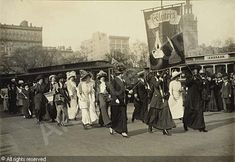 1911 Suffrage Parade in New York City
