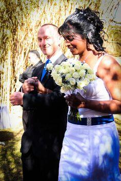 Vasi and Janusz on their Wedding Day | Mokoya Lodge
